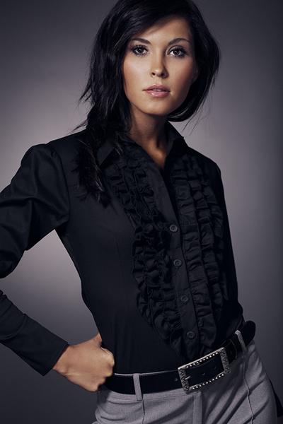 Рубашка NIFE K01 чёрный