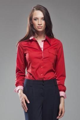 Рубашка NIFE K36 красный