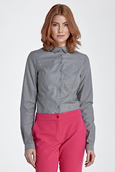 Рубашка NIFE k51 серый