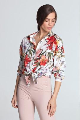 Рубашка NIFE K53 цветы