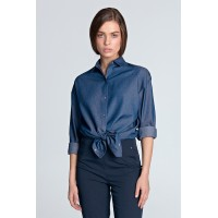 Рубашка NIFE K53 джинс хлопок
