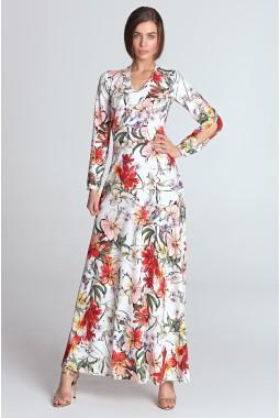 Платье NIFE S119 макси-2