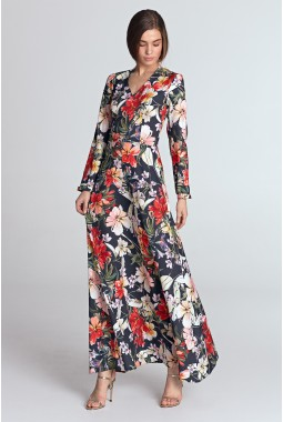 Платье NIFE S119 макси-1