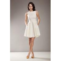 Платье NIFE S17 экрю