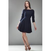 Платье NIFE S19 тёмно-синий