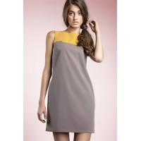 Платье NIFE S25 мокко