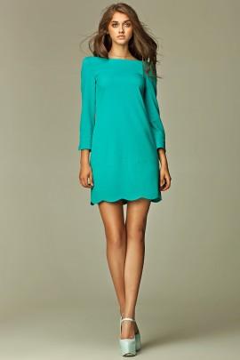 Платье NIFE S28 морской