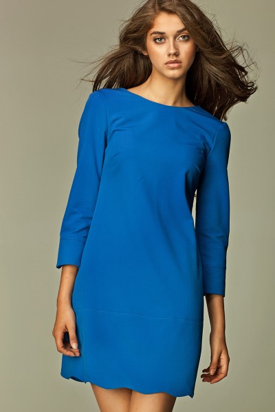 Платье NIFE S28 синий