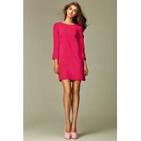 Платье NIFE S28 розовый