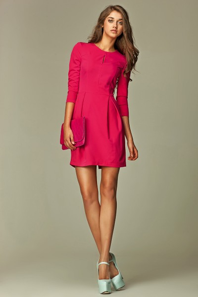 Платье NIFE S32 розовый