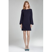Платье NIFE S35 тёмно-синий