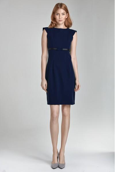 Платье NIFE S36 тёмно-синий