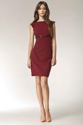 Платье NIFE S36 бордо