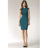 Платье NIFE S36 зелёный