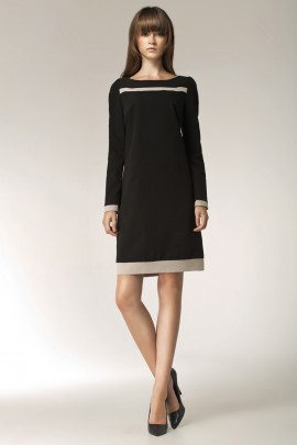 Платье NIFE S40 чёрный