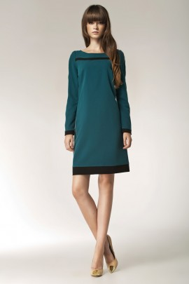 Платье NIFE S40 зелёный