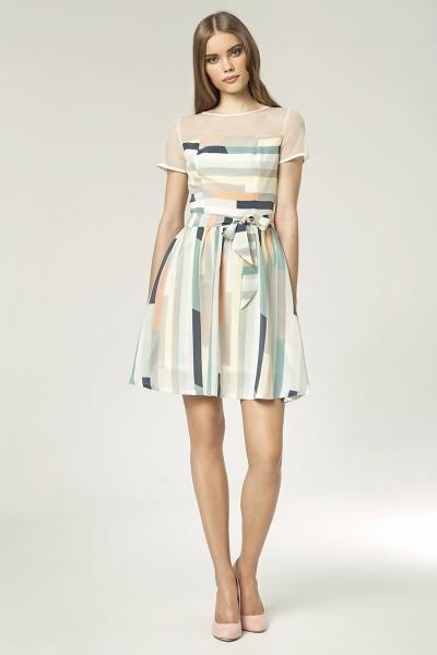 Платье NIFE S44 полоски