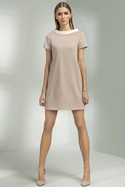 Платье NIFE S54 беж