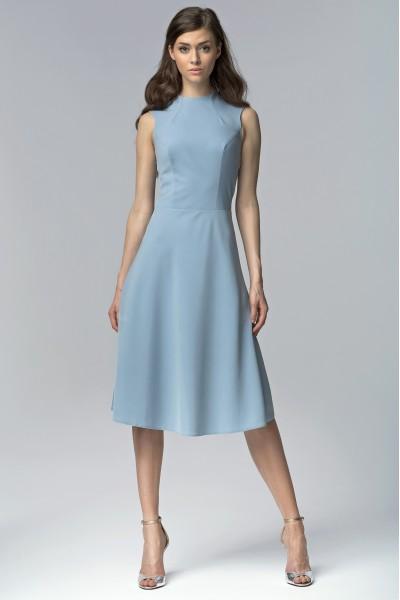 Платье NIFE S62 голубой