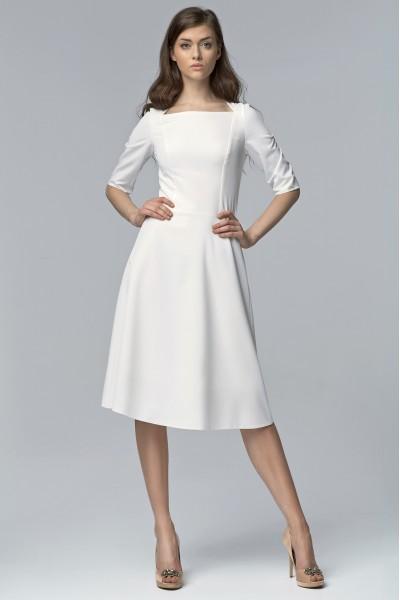 Платье NIFE S63 экрю