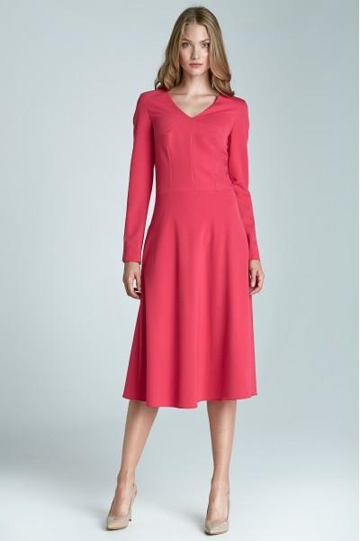 Платье NIFE S67 фуксия