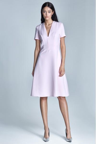 Платье NIFE S71 розовый