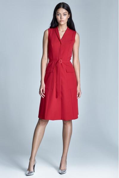 Платье NIFE S72 красный