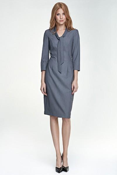 Платье NIFE S77 серый
