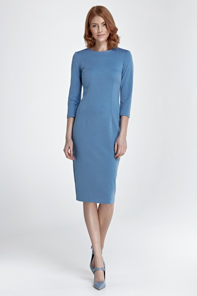 Платье NIFE S81 голубой