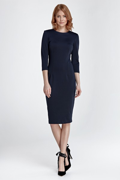 Платье NIFE S81 тёмно-синий