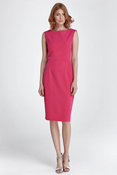 Платье NIFE S83 фуксия