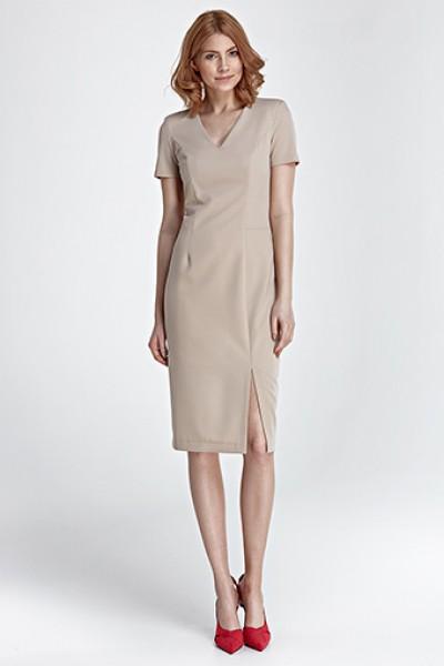 Платье NIFE S83 беж