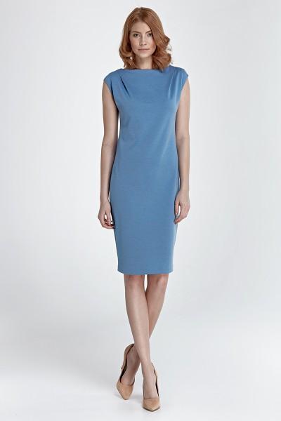 Платье NIFE S84 голубой