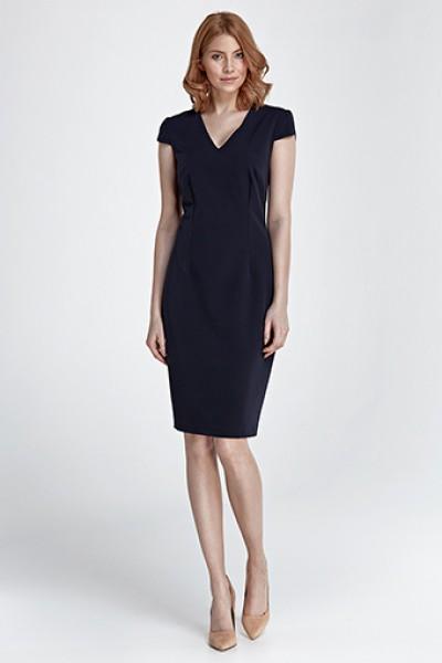 Платье NIFE S85 тёмно-синий