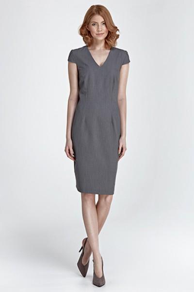 Платье NIFE S85 серый