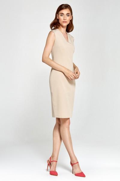 Платье NIFE S87 беж
