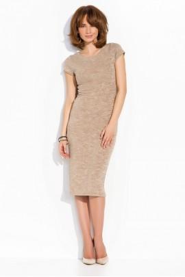 Платье NUMINOU nu02 беж меланж