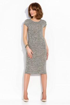 Платье NUMINOU nu02 серый меланж