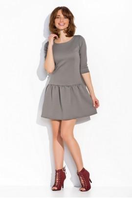 Платье NUMINOU nu03 стальной