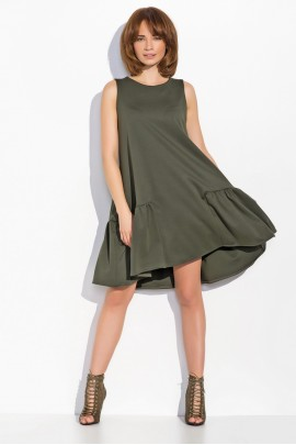 Платье NUMINOU nu05 хаки