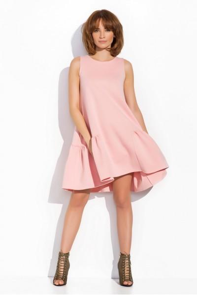 Платье розовое цвета