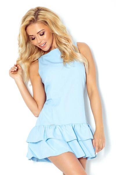 Платье NUMOCO 113-3 голубой