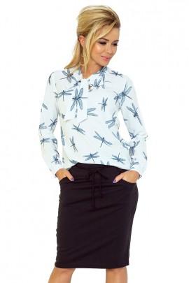Блузка NUMOCO 140-1 стрекозы