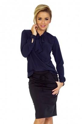 Блузка NUMOCO 140-4 тёмно-синий