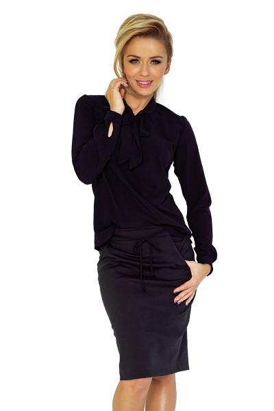 Блузка NUMOCO 140-5 чёрный МСК