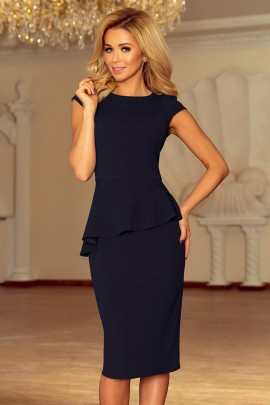 Платье NUMOCO 192-4 тёмно-синий