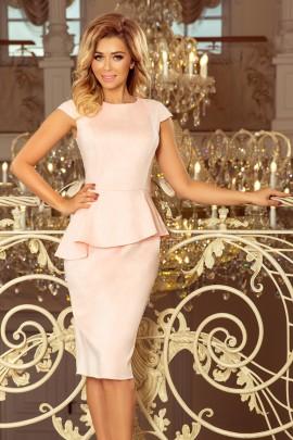 Платье NUMOCO 192-8 розовая пастель замш