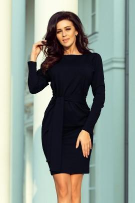 Платье NUMOCO 209-4 тёмно-синий