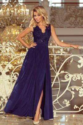 Платье NUMOCO 215-2 тёмно-синий