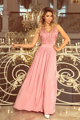 Платье NUMOCO 215-3 пудровый роз